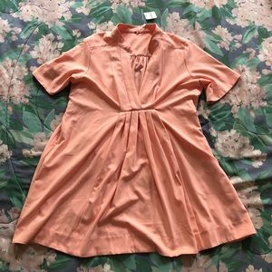 Free People Peach-colored Tunic